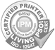 certified printer ipm living iso 12646