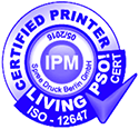 certified printer ipm living pso iso 12647